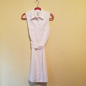 Brooks Brothers Belted Dress